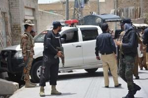 Blast kills at least six security forces in Pakistan's Quetta