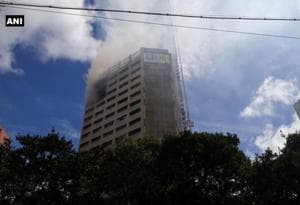 Fire breaks out in central Kolkata office building
