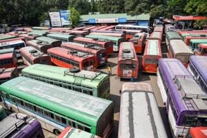 The six-hour-long negotiations between state transport minister Diwakar Raote and the unions on Wednesday night also failed to yield any results.