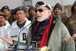 PM Modi in J-K's Gurez valley along LoC to celebrate Diwali with...