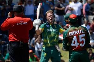 AB de Villiers finds sweet spot on South Africa return