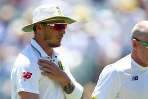 Dale Steyn targets November return after shoulder injury recovery