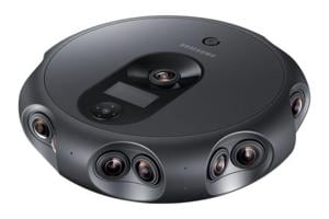 360 Round: Samsung's new camera has 17 lenses and shoots 4K 3D videos