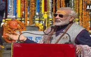 Modi attacks Congress for 'refusing help' in Kedarnath reconstruction