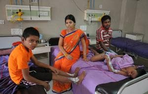 Nine treated for burns ward at Gurgaon civil hospital on Diwali night