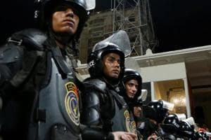 At least 16 police officers killed in raid of militant hideout in...