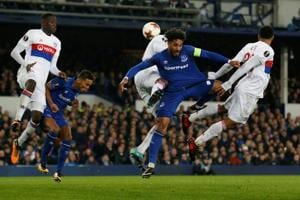 UEFA Europa League: Everton lose to Lyon, Olivier Giroud lifts Arsenal