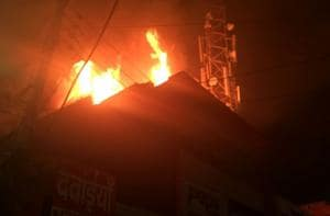 13 fire related incidents reported on Diwali