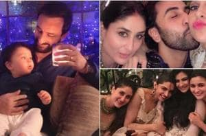 Dad Saif Ali Khan impresses Taimur with candles while mum Kareena...
