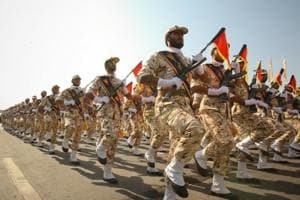 Iran's Revolutionary Guards flex muscle in Middle East despite Trump...