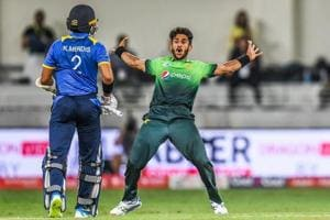 Hasan Ali's unique 'bomb explosion' celebration and achieving...