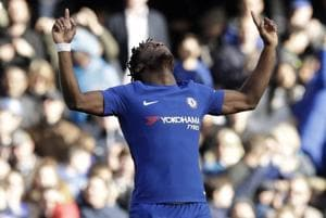 Michy Batshuayi brace gives Chelsea 2-1 Premier League win over...