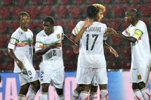 Mali secured yet another victory over Ghana as they won the quarter-final 2-1 in Guwahati to enter the semi-final of the FIFA U-17 World Cup.