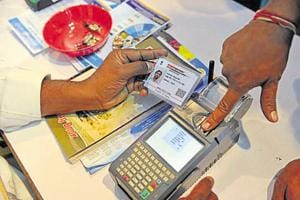 Put mandatory Aadhaar-bank account linking on hold till SC verdict:...