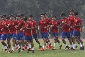 FIFA U-17 World Cup: Travel-weary Spain aim to unlock Iran's defence
