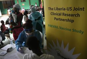A united stand: In the wake of the 2014-16 outbreak, an Ebola vaccine was developed jointly by a group of countries, NGOs and the WHO — and made it through clinical trials in less than two years, against the usual 10 to 15.