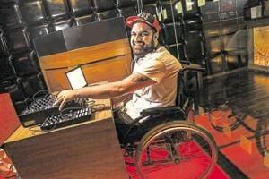 Spinning on wheels: Varun Khullar, India's first differently abled DJ,...
