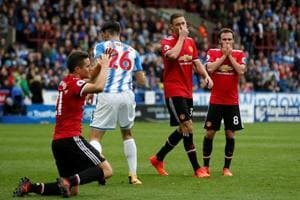 Jose Mourinho slams Manchester United's attitude after Huddersfield...