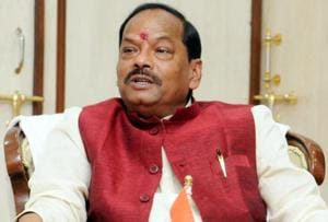 Jharkhand CM Raghubar Das rides scooter without helmet on Diwali,...