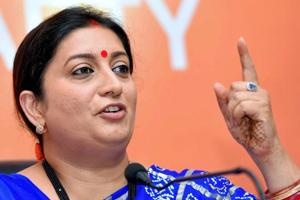 Irani hits back at Rahul for Jay Shah tweet, says Congress will still...