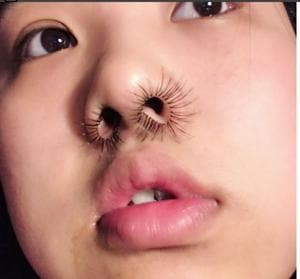Here's Instagram's latest gift to you: nose hair extensions. No...