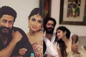Mouni Roy and Mohit Raina shared a loved-up Diwali. See their cute...