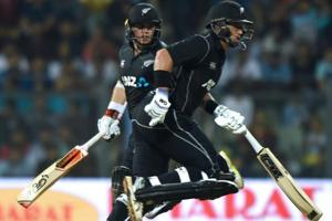 Ross Taylor, Tom Latham 50s lift New Zealand vs India in 1st ODI