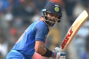 India v New Zealand: Virat Kohli slams 46th fifty in his 200th ODI
