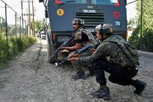Terrorist killed in encounter with security forces in Jammu and...