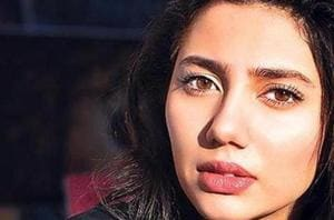 All the glitters is gold: Mahira Khan on the cover of OK! Pakistan