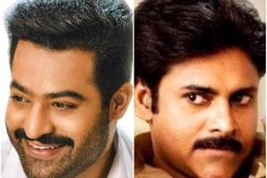 In a rare instance, Pawan Kalyan graces the launch of Jr NTR's next
