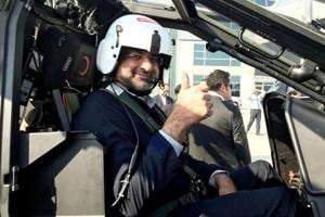 Abbasi becomes Pakistan's first prime minister to fly military...