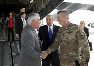 US secy of state Tillerson makes surprise visit to Afghanistan