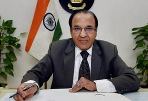 Achal Kumar Jyoti assumes charge as the Election Commissioner in New Delhi.