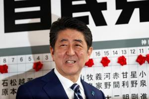 Japan elections: Shinzo Abe retains super-majority, targets N Korea...