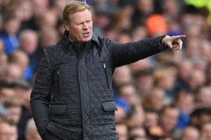 Everton sack Ronald Koeman after woeful start to Premier League...