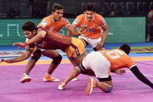 Puneri Paltan eliminate UP Yoddha from Pro Kabaddi League