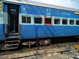 Disaster averted: Train runs with wheel parts missing, finally stopped...