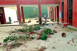 A year after expulsion, student vandalises govt school near Chandigarh...