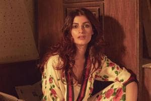 Twinkle Khanna is effortless as she poses in pyjamas for fashion...