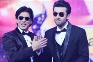 Shah Rukh Khan, Ranbir Kapoor dance to Bole Chudiyan. Watch video