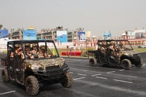 ITBP unveils mechanised column for deployment on China border