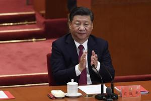With his ideology enshrined in CPC constitution, Xi Jinping in same...