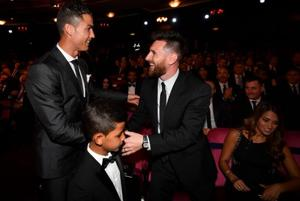 Cristiano Ronaldo eyes 'lucky seventh' after pipping Lionel Messi at...