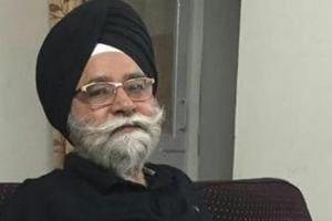 GS Gill, national president of the Rashtriya Sikh Sangat