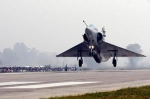 Photos: IAF Fighter jets, aircraft touch down on Lucknow-Agra...