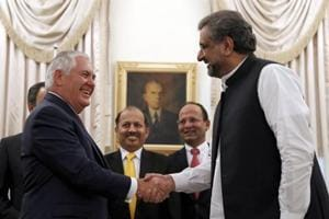 Tillerson in Pakistan with tough message on terror safe havens