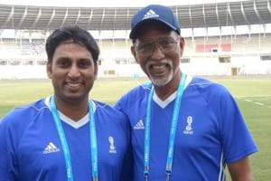 FIFAU-17 World Cup: Father-son volunteer duo live out their dreams together