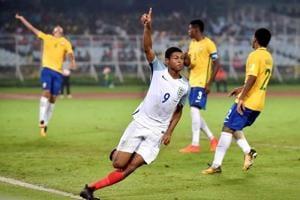 FIFAU-17 World Cup: 'Dream come true' for Rhian Brewster as England reach final