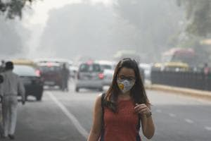Sending out pollution alerts through newspapers, TV and radio to advise people with respiratory and cardiac ailments to avoid polluted areas and restrict outdoor movement is a part of graded plan.